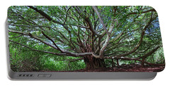 Banyan Tree Portable Battery Charger by James Roemmling