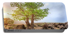 Portable Battery Charger featuring the photograph Baobab Tree by Alexey Stiop