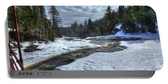 Baptism River Falls Tettegouche State Park Minnesota Portable Battery Charger
