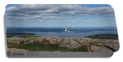 Bar Harbor View From Cadillac Portable Battery Charger