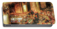 Bar Scene Portable Battery Charger