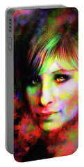Barbara Streisand Portable Battery Charger