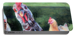 Barbara The Chicken Portable Battery Charger