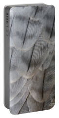 Barbary Falcon Feathers Portable Battery Charger