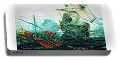 Barbary Pirates Portable Battery Charger