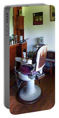 Barber - Old-fashioned Barber Chair Portable Battery Charger