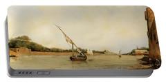 barca sul Nilo Portable Battery Charger