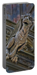 Barcelona Dragon Gargoyle Portable Battery Charger by Henry Kowalski