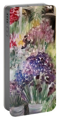 Barcelona Flower Mart Portable Battery Charger