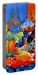 Barcelona Nights Portable Battery Charger