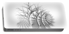 Bare Trees Daylight Portable Battery Charger