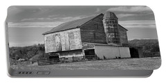 Portable Battery Charger featuring the photograph Barn 1 by Mike McGlothlen