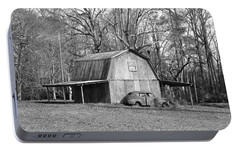 Portable Battery Charger featuring the photograph Barn 2 by Mike McGlothlen