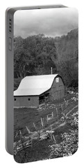 Portable Battery Charger featuring the photograph Barn 3 by Mike McGlothlen