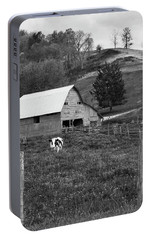 Portable Battery Charger featuring the photograph Barn 4 by Mike McGlothlen