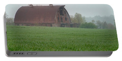 Barn In Summer Portable Battery Charger