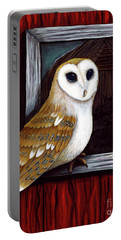 Barn Owl Beauty Portable Battery Charger