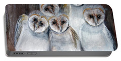 Barn Owl Chicks Portable Battery Charger