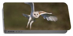 Barn Owl Cornering Portable Battery Charger