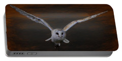 Barn Owl Drama Portable Battery Charger