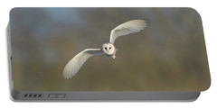 Barn Owl Hunting In Worcestershire Portable Battery Charger
