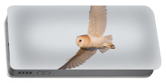 Barn Owl Hunting Portable Battery Charger