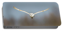 Barn Owl Sculthorpe Moor Portable Battery Charger