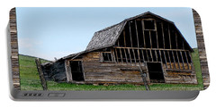 Portable Battery Charger featuring the photograph Barn by Susan Kinney