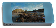 Portable Battery Charger featuring the photograph Barnacles On The Beach by Thom Zehrfeld