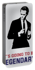 Barney Stinson Poster How I Met Your Mother - It's Going To Be Legendary Portable Battery Charger