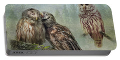Barred Owls - Steal A Kiss Portable Battery Charger