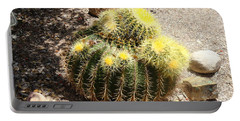 Barrel Of Cactus Needles Portable Battery Charger