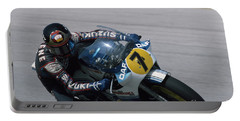 Barry Sheene. 1984 Nations Motorcycle Grand Prix Portable Battery Charger