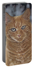 Barry The Cat Portable Battery Charger