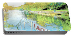 Barton Springs Sketch Portable Battery Charger