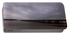 Portable Battery Charger featuring the photograph Barwon Heads Bridge by Linda Lees
