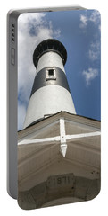 Base Of Bodie Island Lighthouse Portable Battery Charger