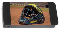 Baseball Catcher Helmet Portable Battery Charger