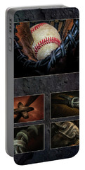Baseball Collage I Portable Battery Charger