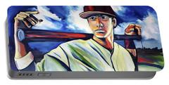 Baseball Crucifix Portable Battery Charger