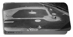 Portable Battery Charger featuring the photograph Baseball Game, 1967 by Granger