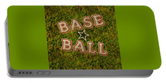 Baseball Portable Battery Charger by La Reve Design
