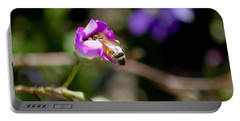 Bashful Bee  Portable Battery Charger