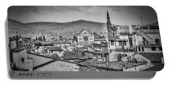 Basilica Di Santa Croce Portable Battery Charger by Sonny Marcyan