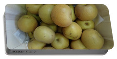 Basket Of Asian Pears Portable Battery Charger