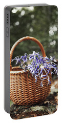 Basket Of Bluebells Portable Battery Charger