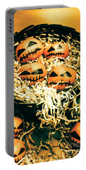 Basket Of Little Halloween Horrors Portable Battery Charger
