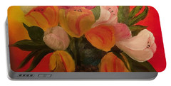 Basket Of Tulips Portable Battery Charger