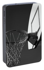 Portable Battery Charger featuring the photograph Basketball Court by Richard Rizzo