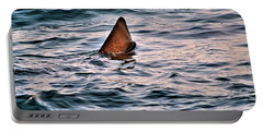 Basking Shark In July Portable Battery Charger